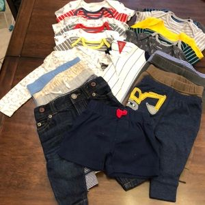 CARTER'S 3 Months Boys clothing